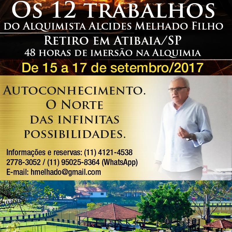 Os 12 trabalhos do Alquimista – retiro em Atibaia/SP